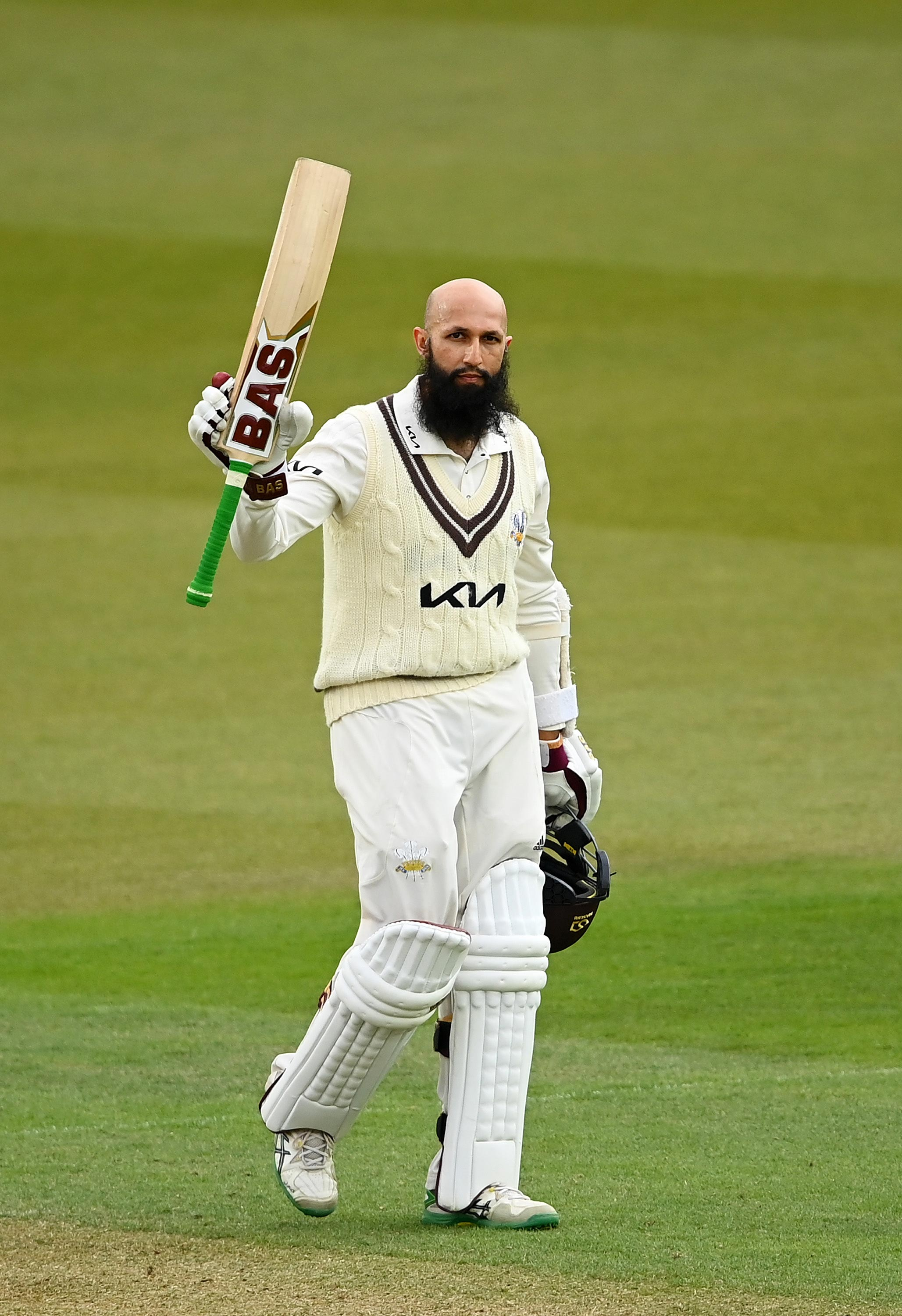 Amla continues to churn out the runs // Getty