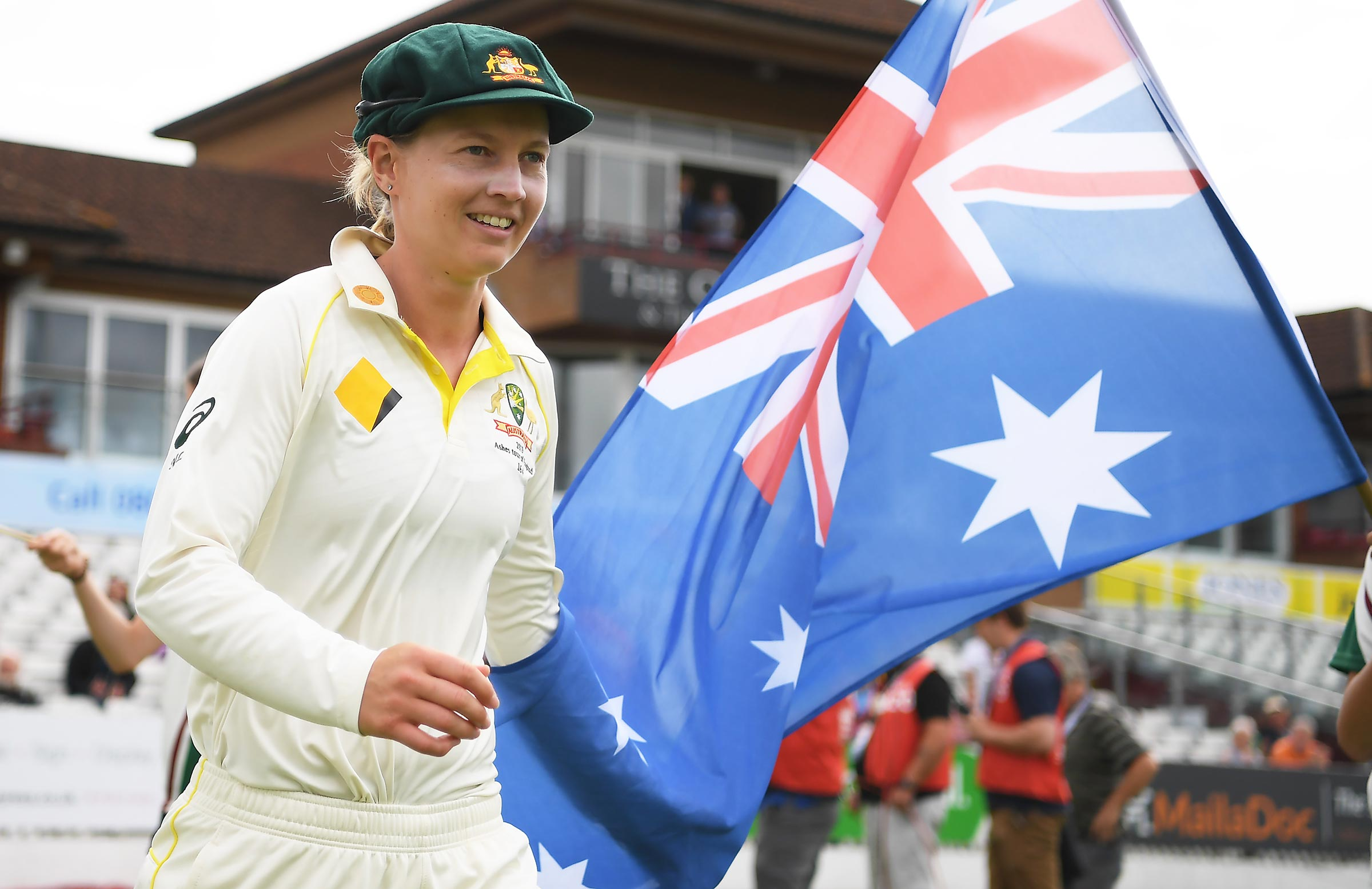 Meg Lanning and Australia will pull on the Test whites again this summer // Getty