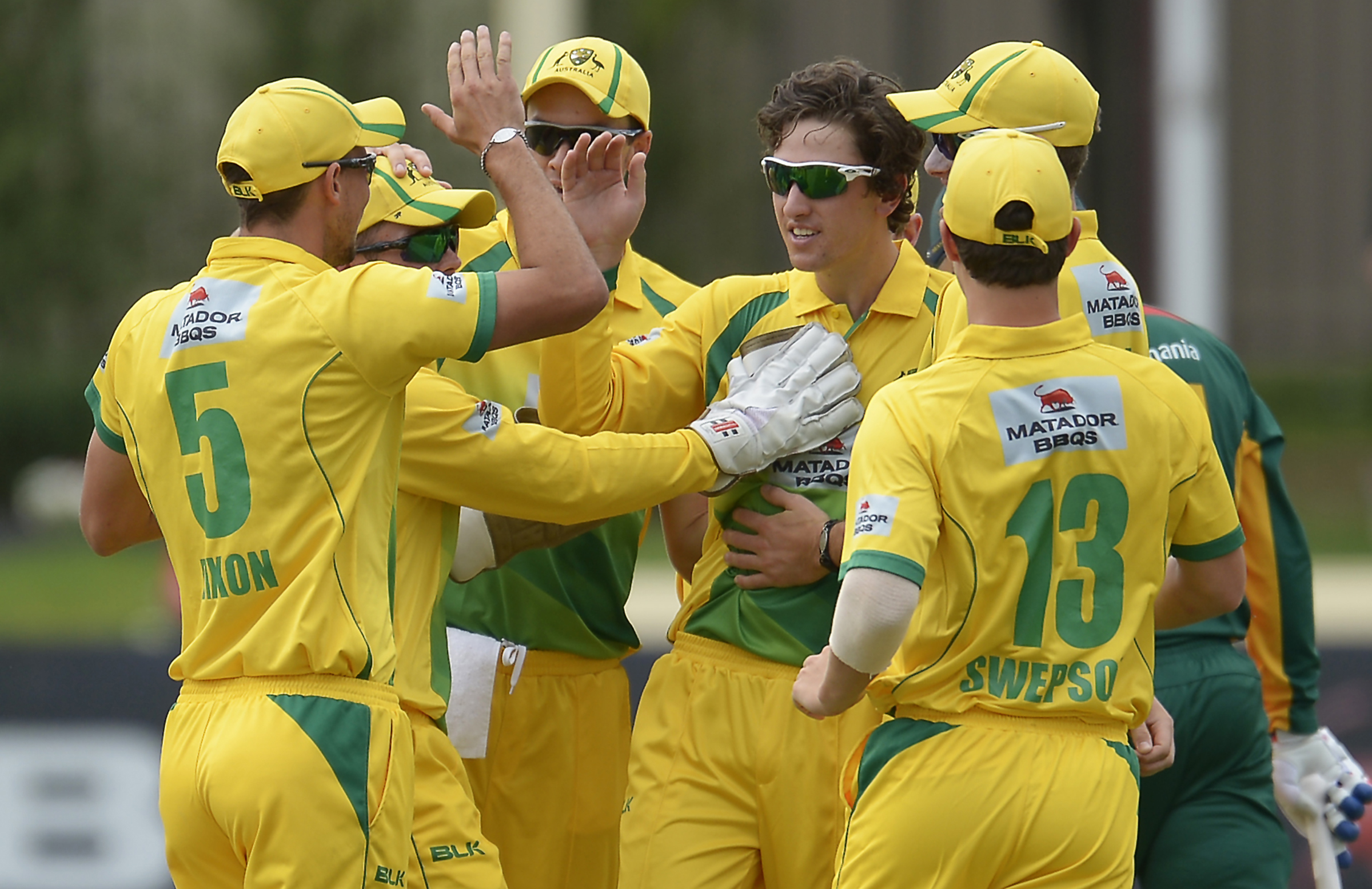 The Cricket Australia XI played in the one-day cup for three seasons // Getty