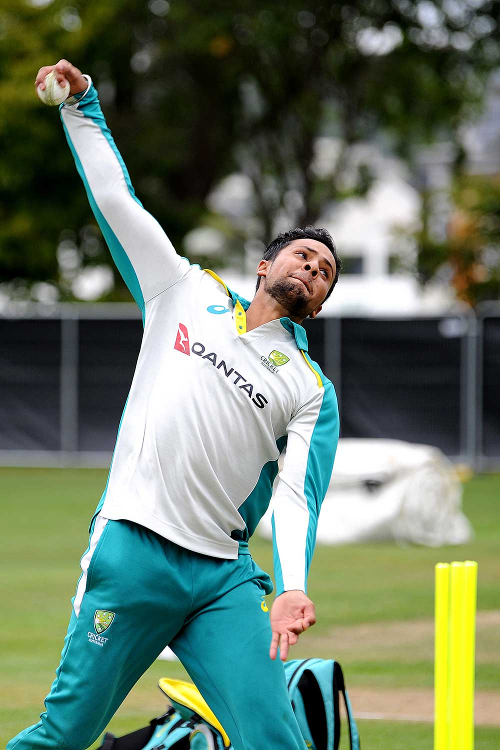 Sangha delivers in the nets on the NZ tour // Getty