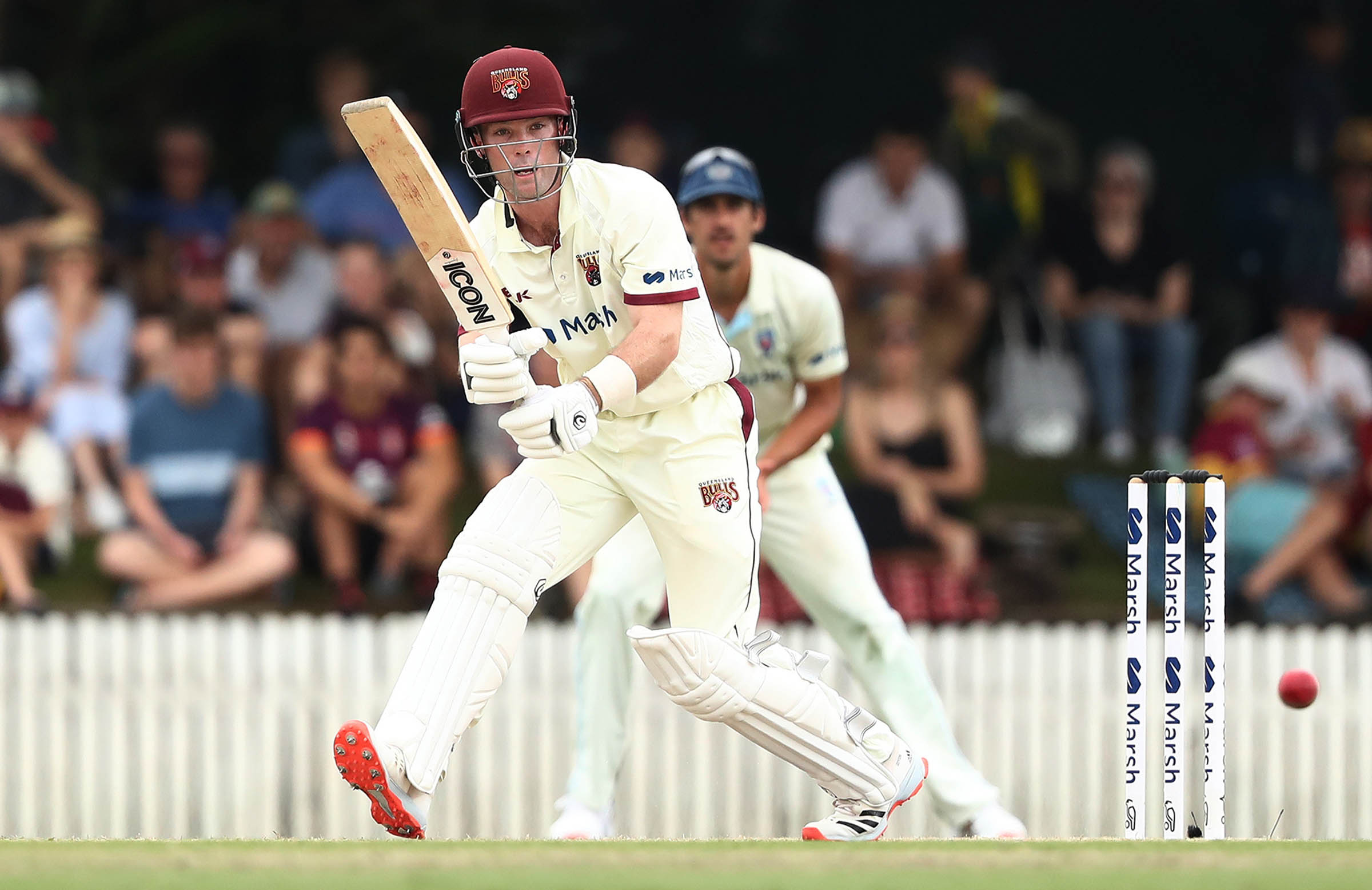 Peirson made a fighting 66 against a strong NSW attack in the Shield // Getty