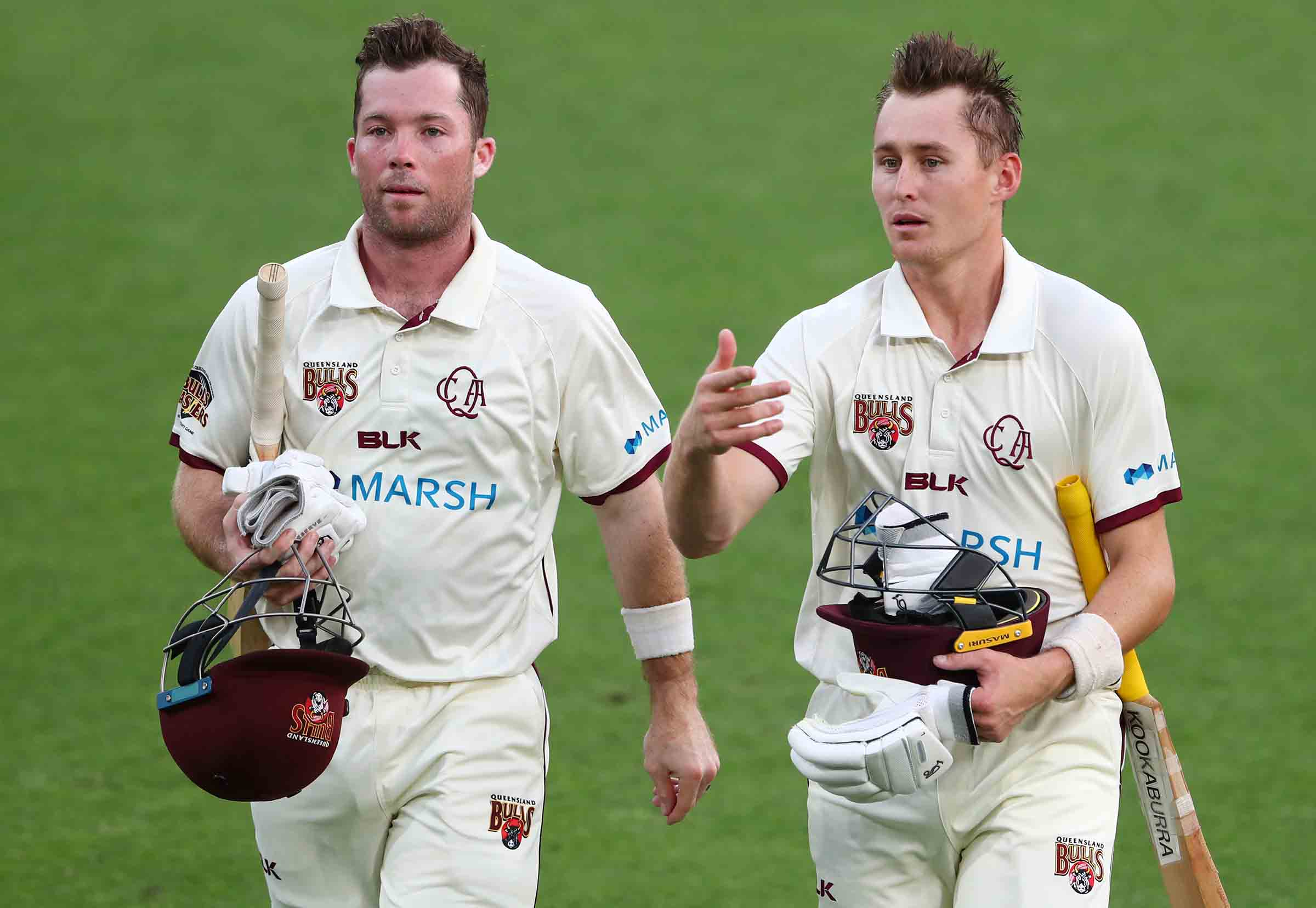 Peirson has seen first-hand the processes behind Labuschagne's success // Getty