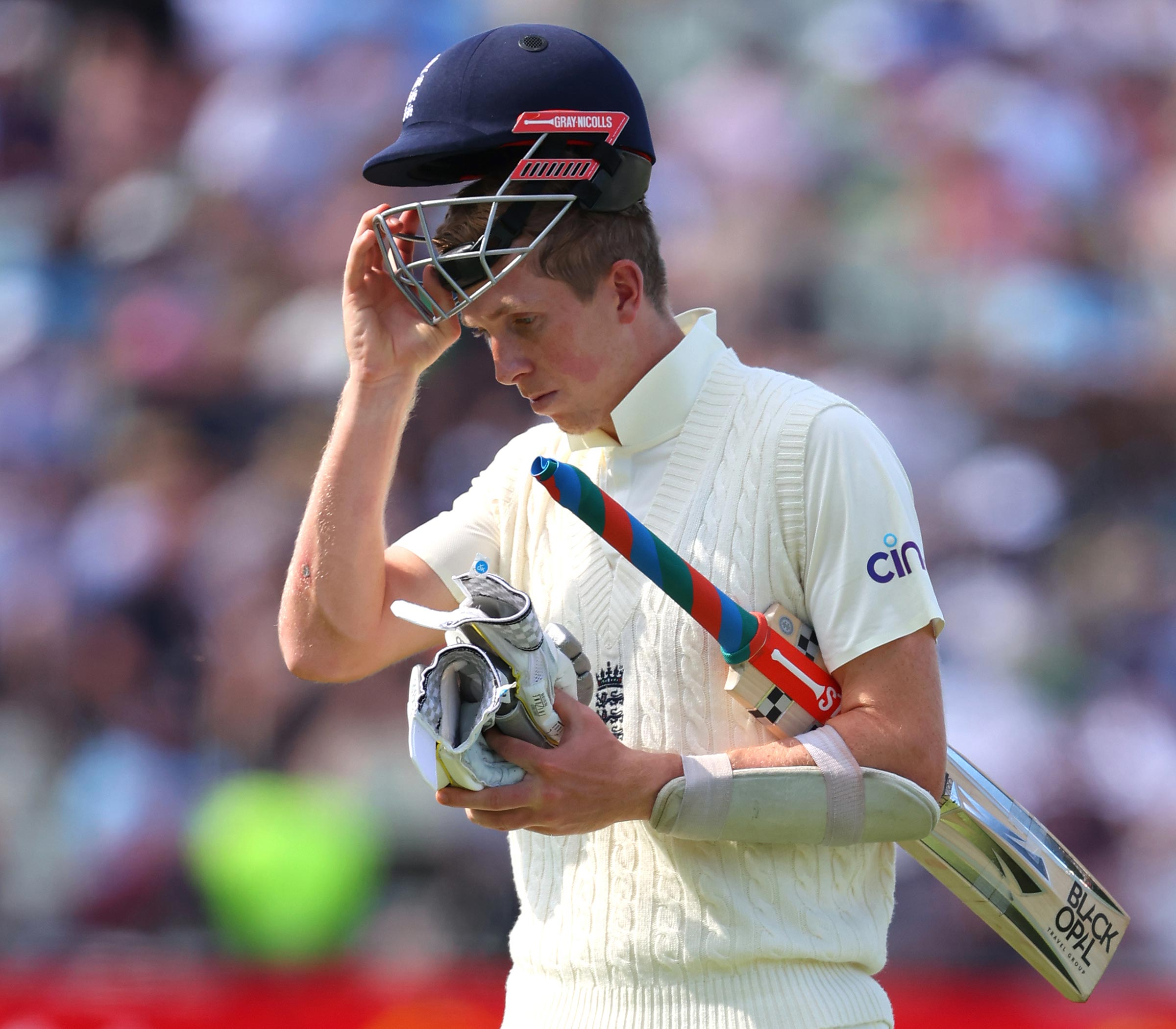 Zak Crawley has been dismissed for less than 20 in his past seven Test innings // Getty