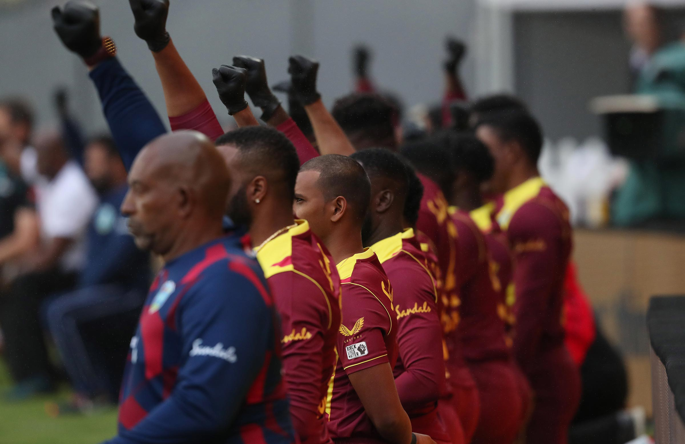 The West Indies have taken a knee before all matches for the past year // Getty