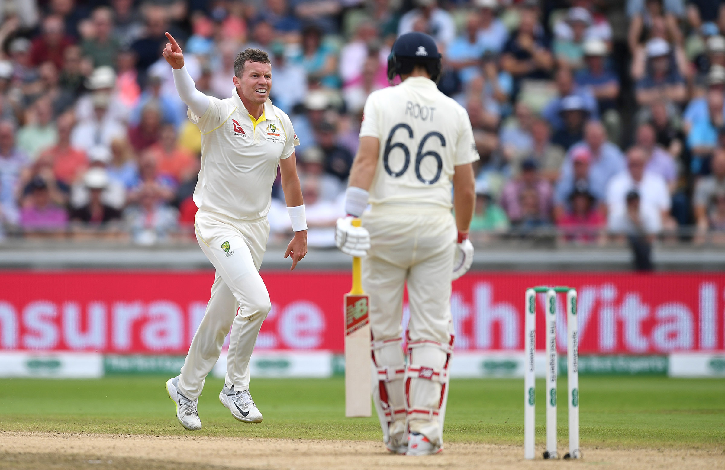 Siddle was one of five fast bowlers used in the 2019 Ashes // Getty