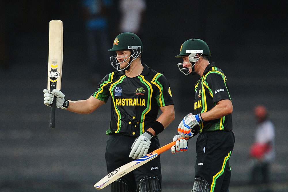 Shane Watson dominated with bat and ball at the 2012 T20 World Cup // Getty