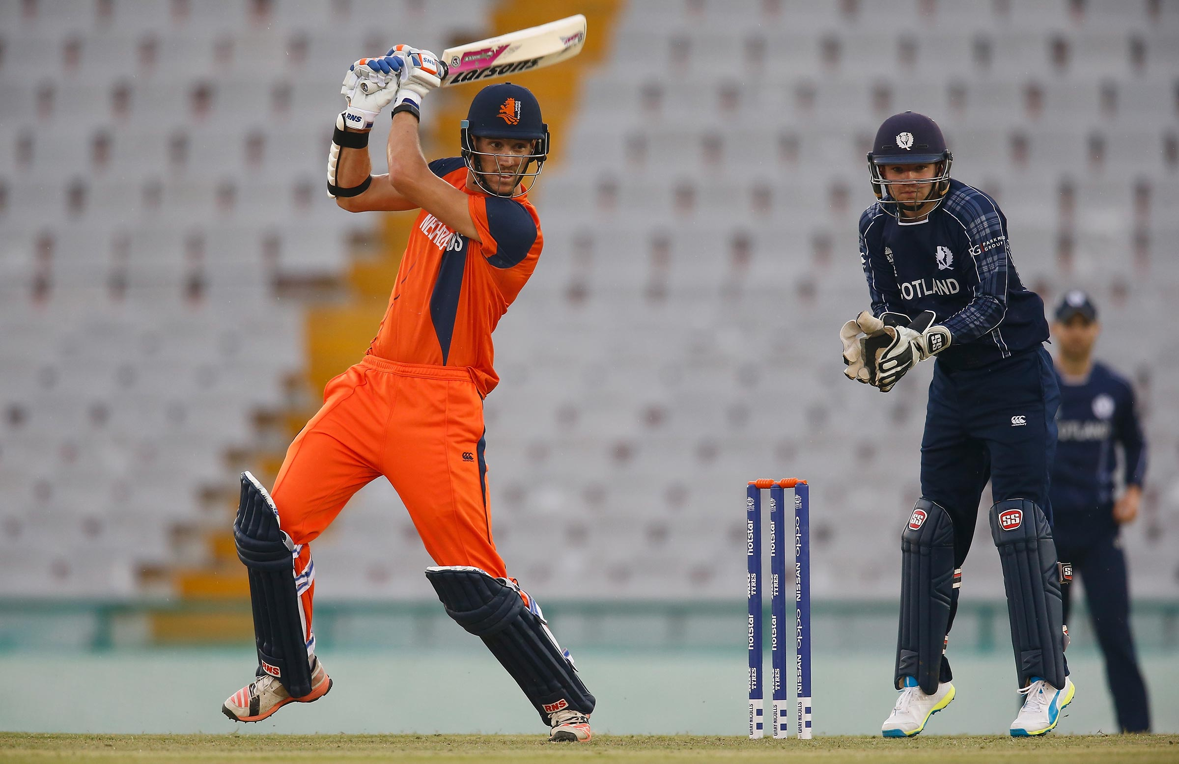 Cooper playing against Scotland at the T20 World Cup // Getty