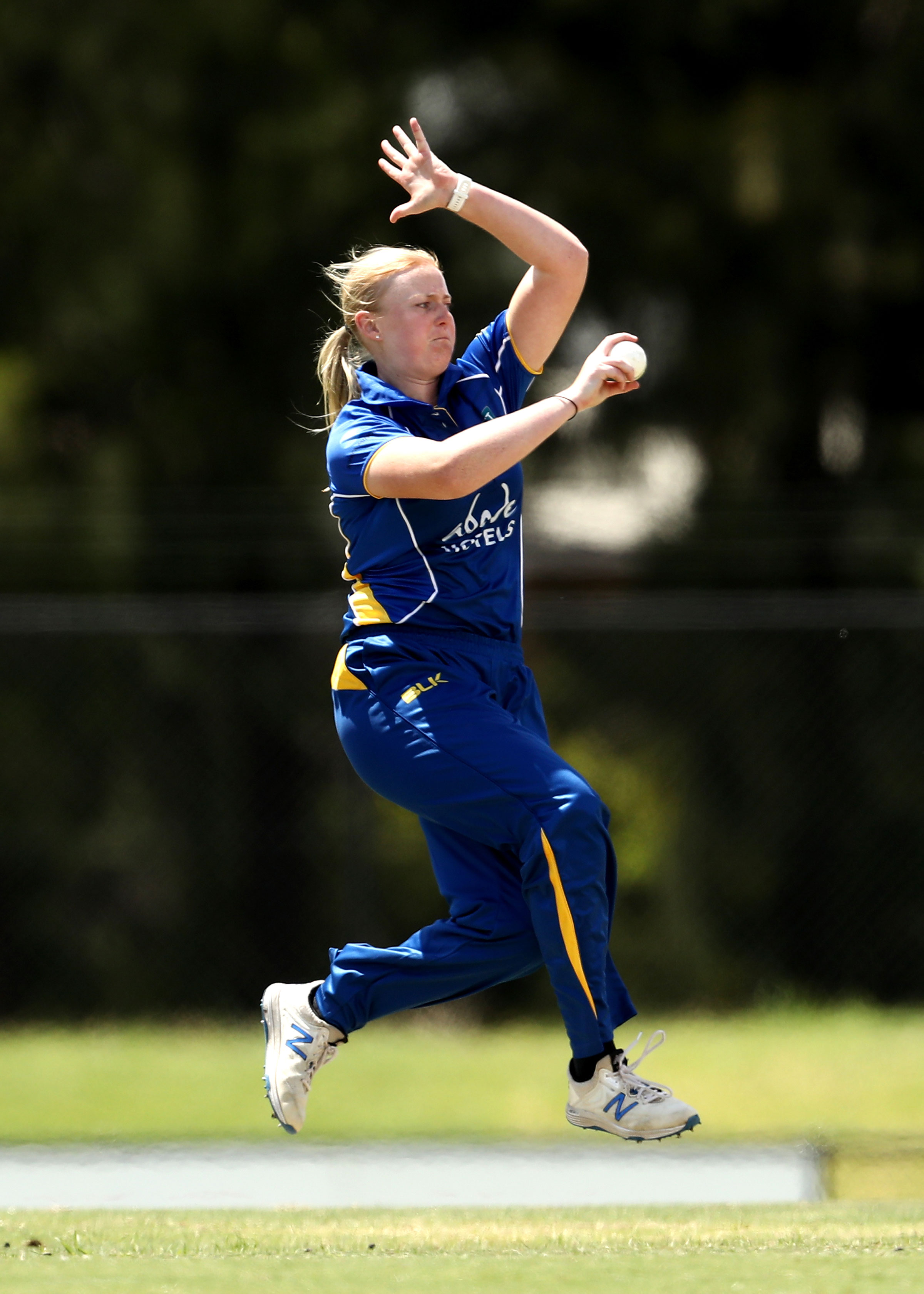 Olivia Porter made her WNCL debut after recovering from injury last summer // Getty