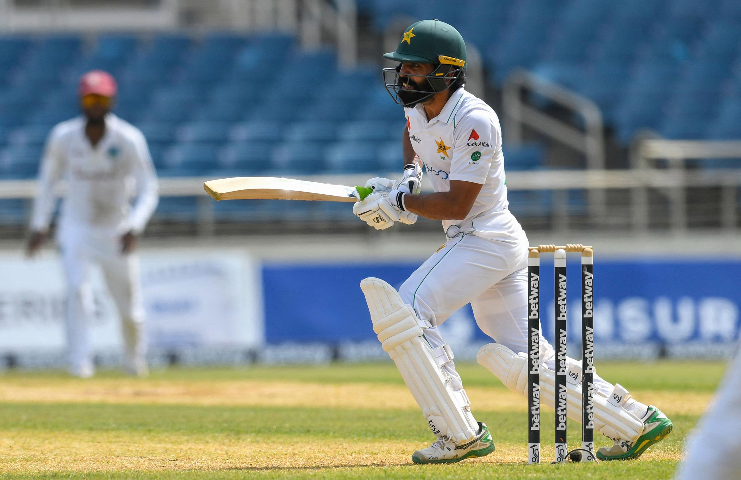 Fawad Alam scored yet another Test century for Pakistan // Getty