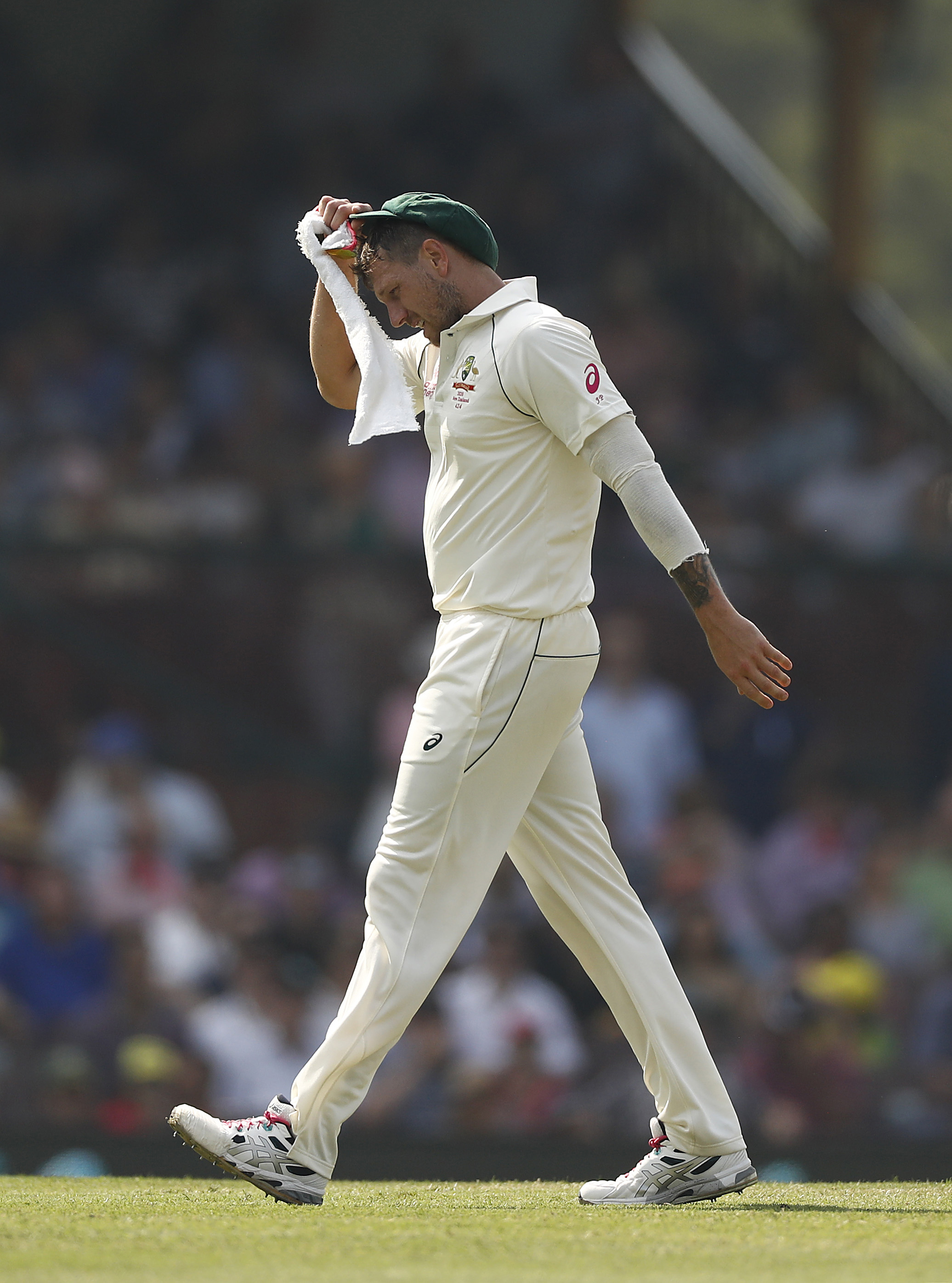 Pattinson has played in a little more than 20 per cent of Australia's Tests since his debut // Getty