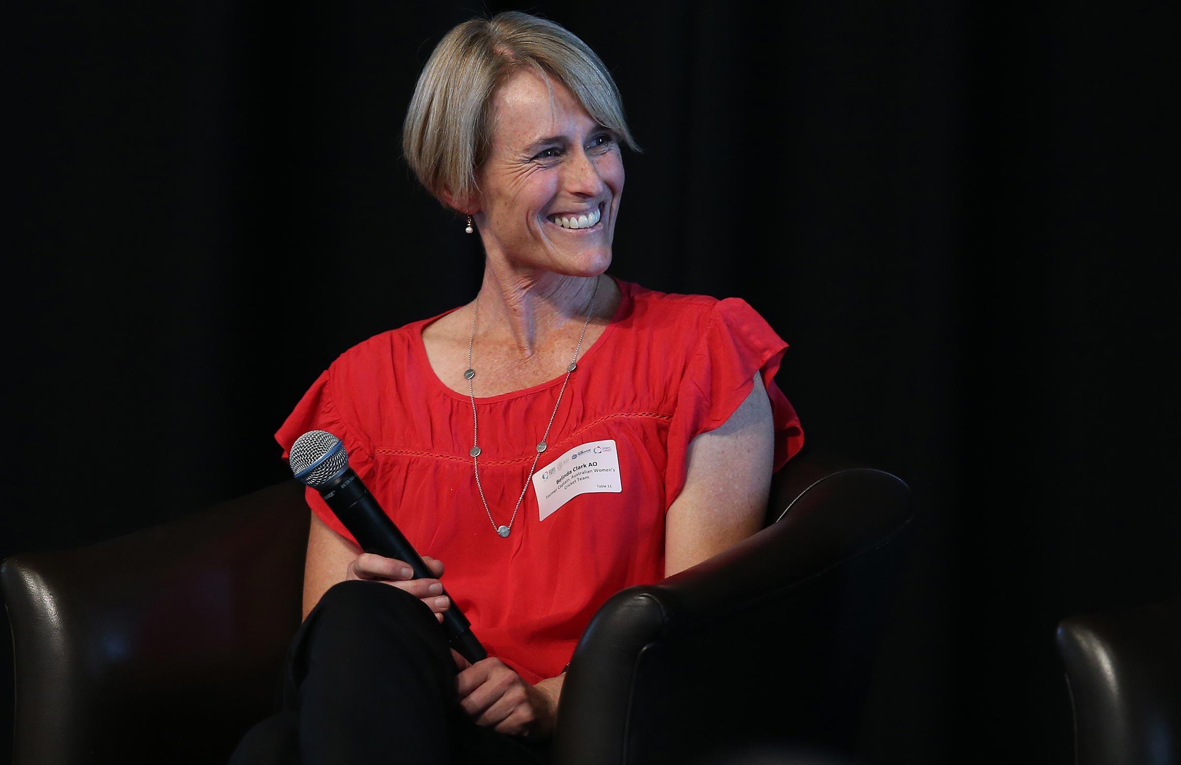 Belinda Clark has been a key sounding board for Molineux // Getty