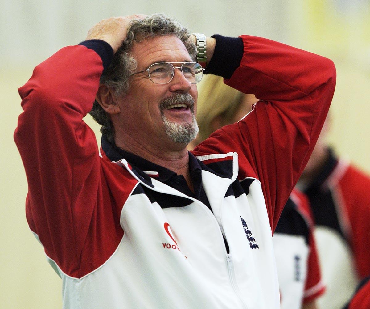 Former Australia and England coach John Harmer // Getty