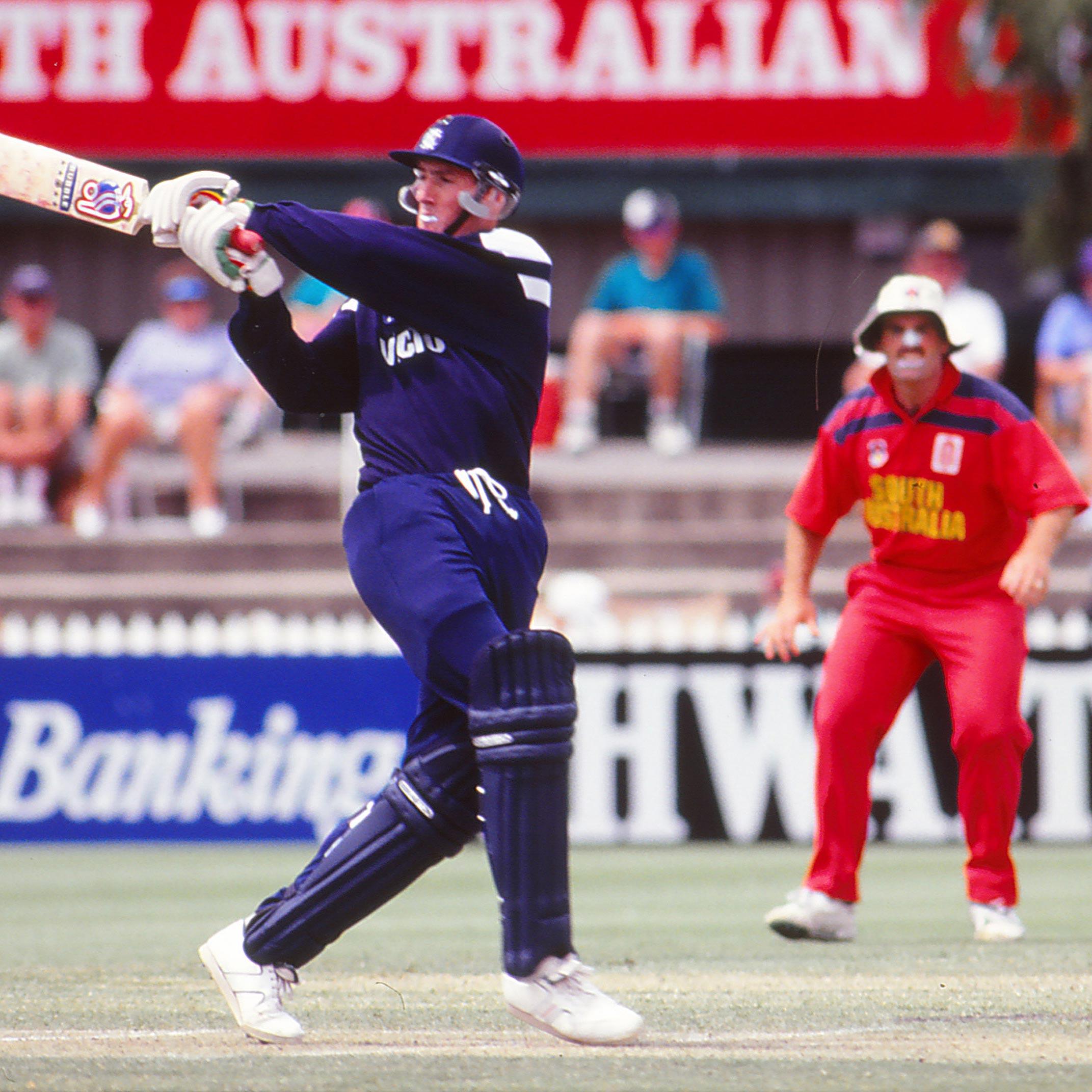 Victoria's Matthew Elliott in a match against South Australia // Getty