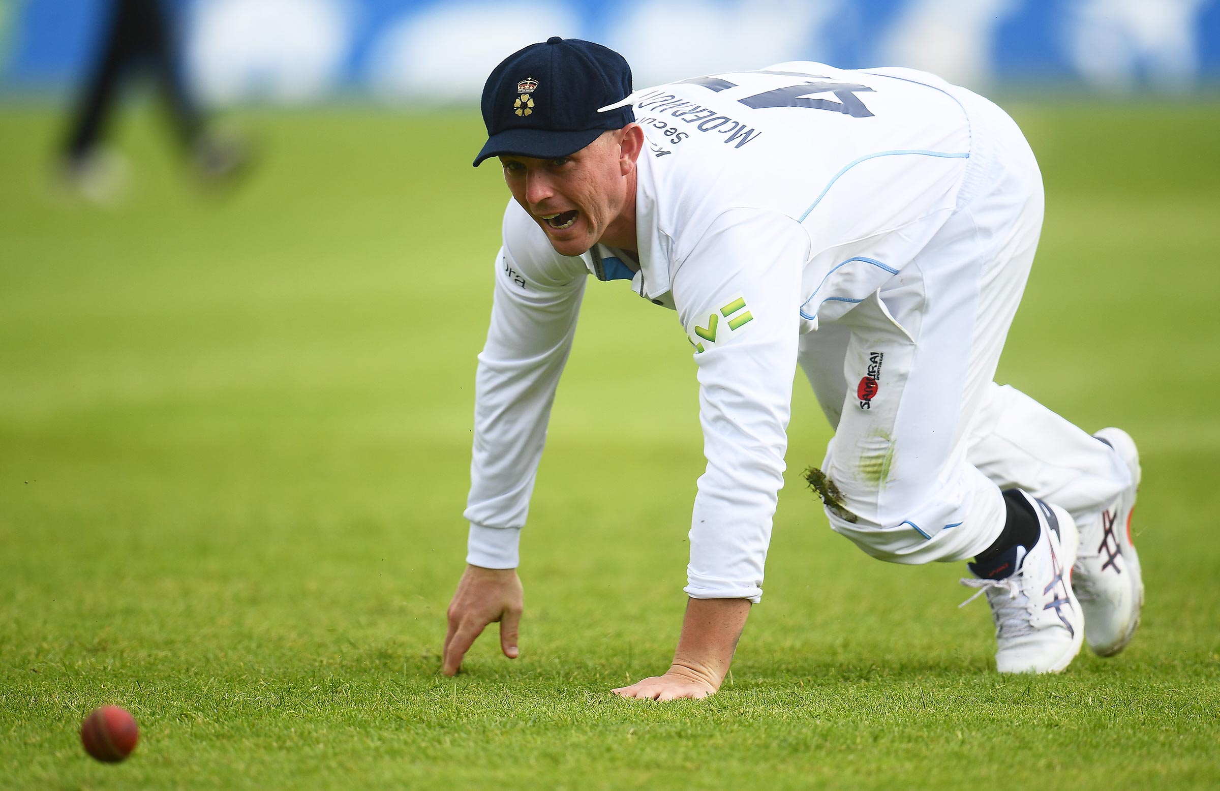 McDermott made an unexpected first-class debut for Derbyshire // Getty