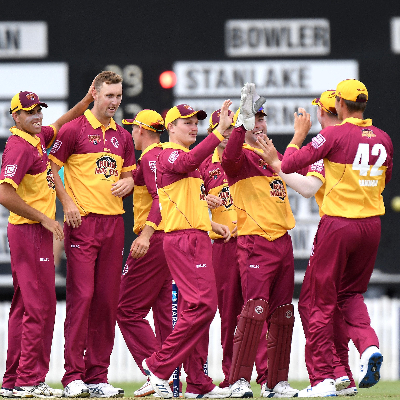 Queensland wearing a retro kit in 2019 // Getty