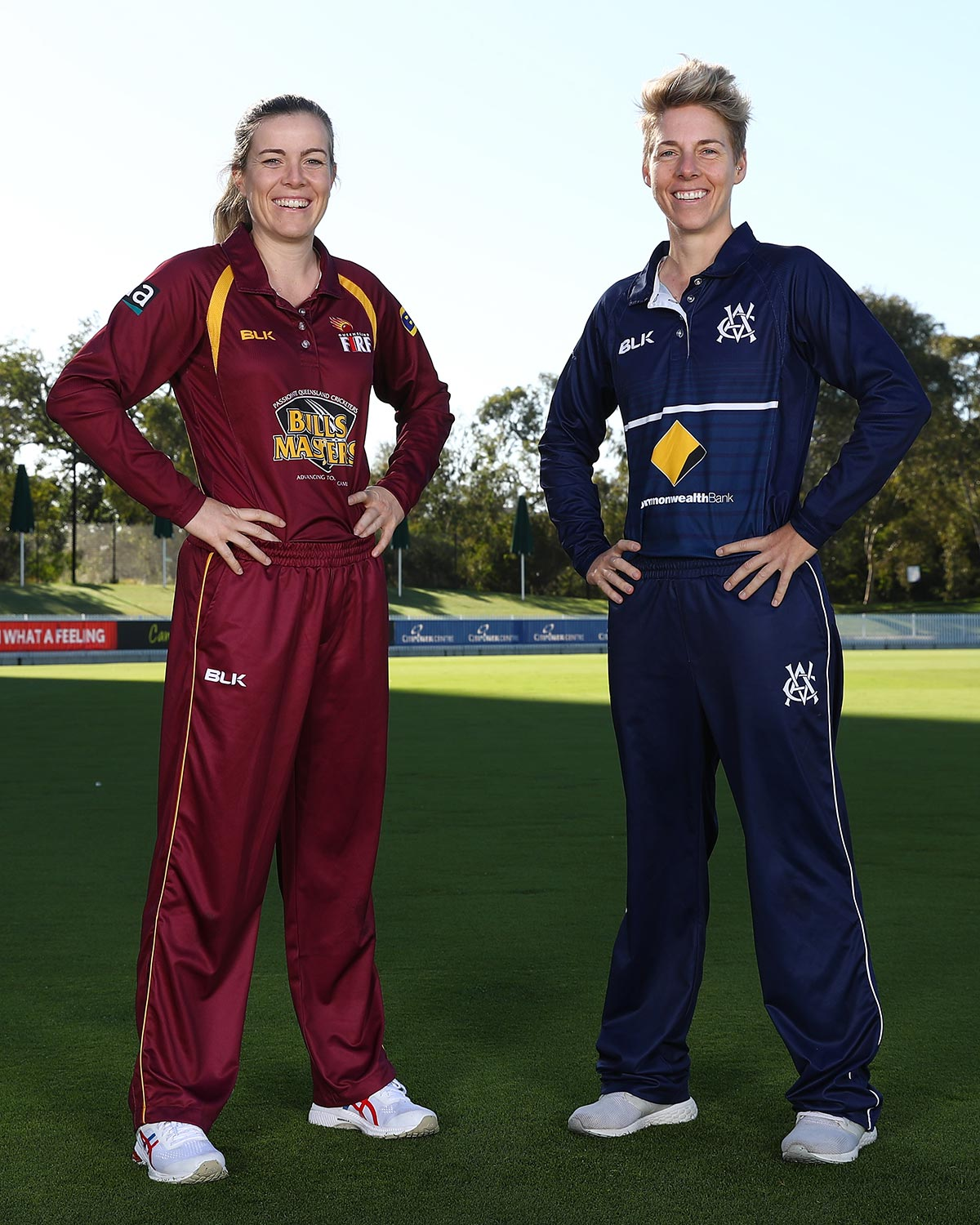 The two captains for the 2021 WNCL Final // Getty