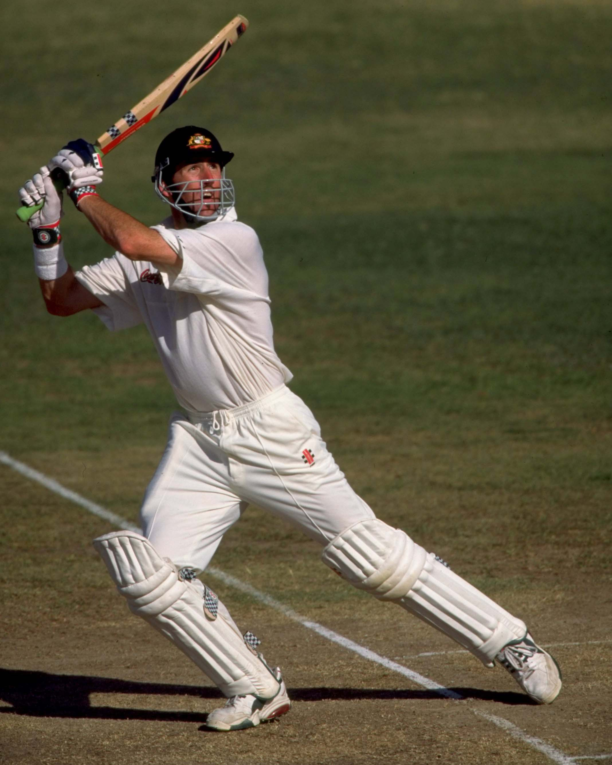 Elliott on the 1999 tour of the West Indies // Getty