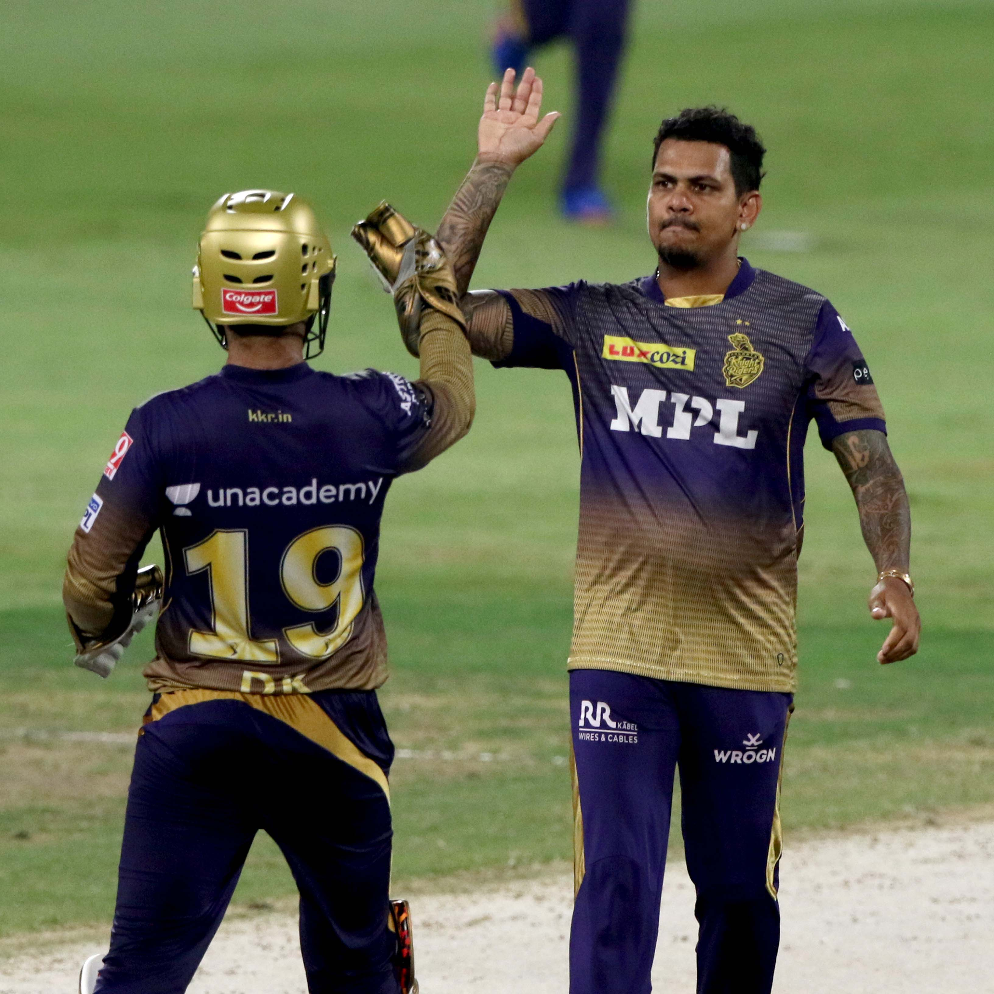 Narine was the match-winner with both bat and ball // BCCI-Sportzpics