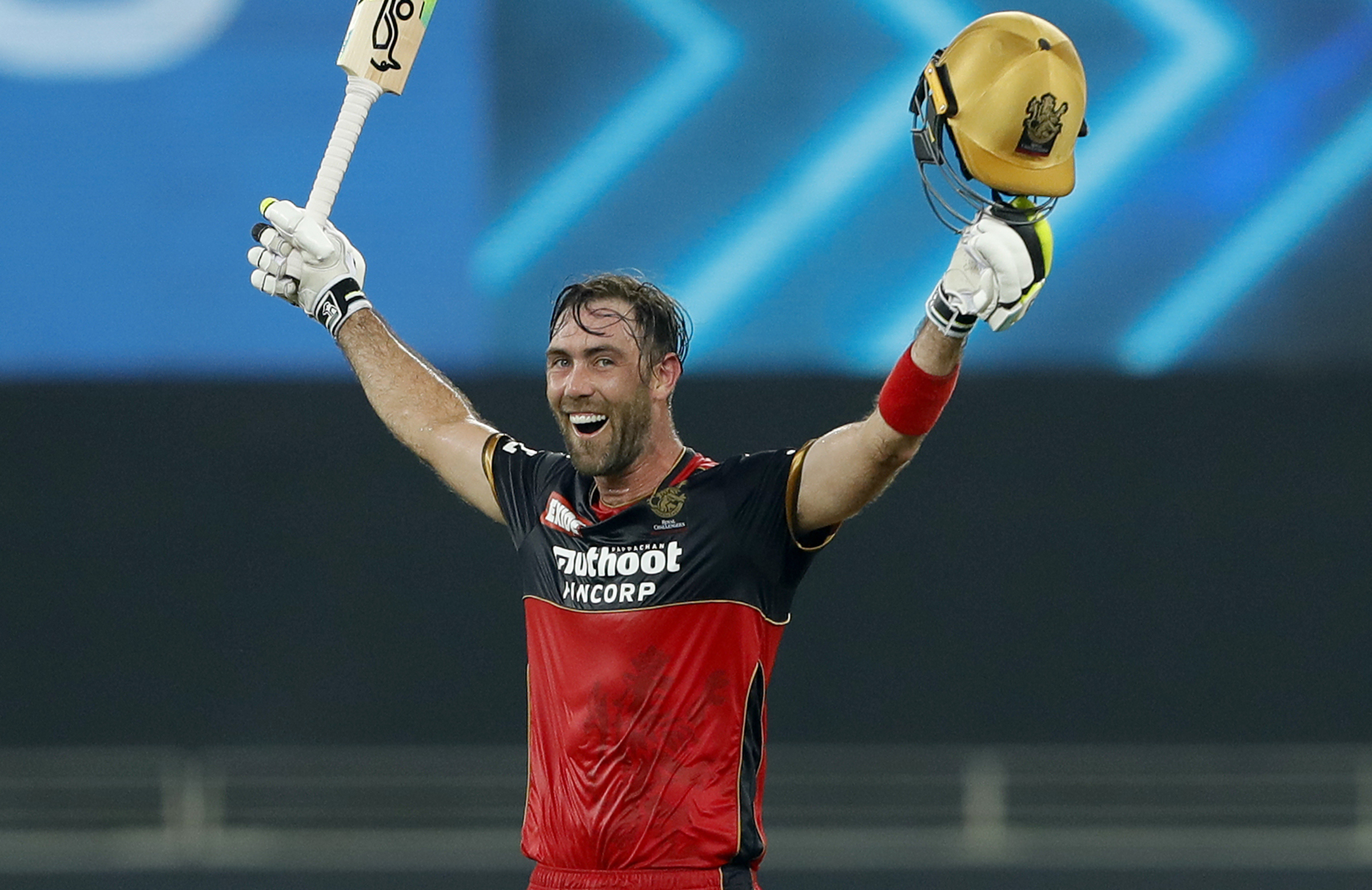 Maxwell has hit 290 runs at a strike-rate of 143.56 in the second part of the IPL // BCCI/IPL