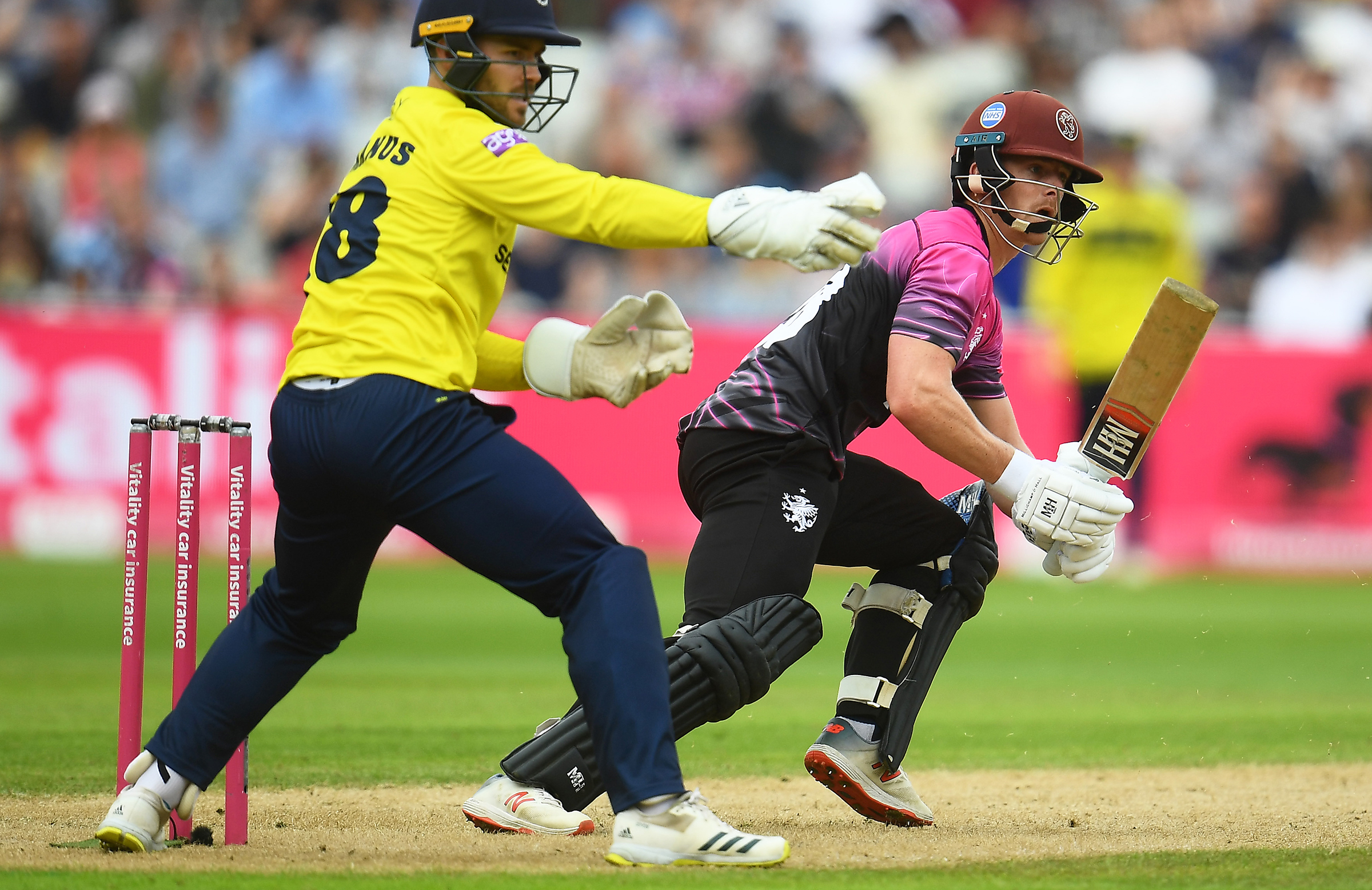 Abell in action for Somerset's T20 team // Getty